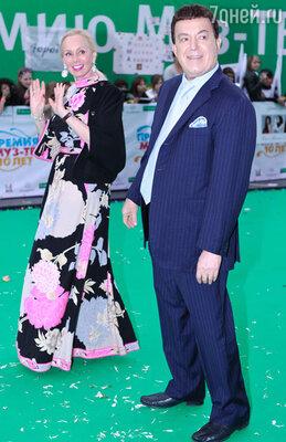 Иосиф Кобзон с супругой