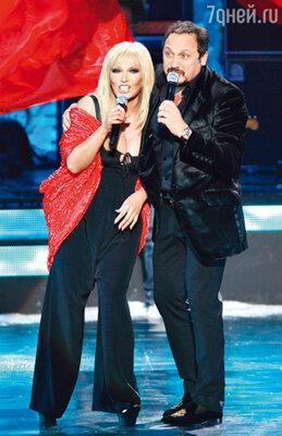 С Таисией Повалий на концерте «20 лучших песен 2010 года»