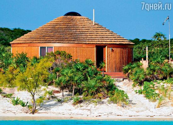 Уединенное бунгало на собственном острове Джонни Деппа, где он с семьей больше всего любит отдыхать