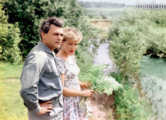 Сергей Бондарчук и Ирина Скобцева. Начало 1960-х гг.