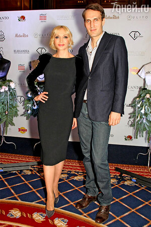 Кристина Орбакайте с мужем Михаилом Земцовым