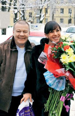Сергей Селин с женой Анной