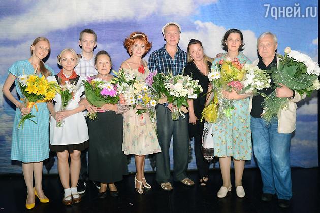 Ольга Прокофьева, Раиса Рязанова, Наталья Громушкина, Василий Мищенко, Олеся Железняк
