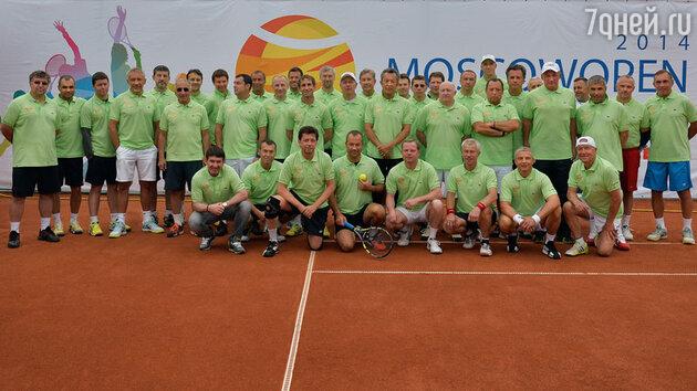 В москве состоялся теннисный турнир в поддержку фонда «Подари жизнь»