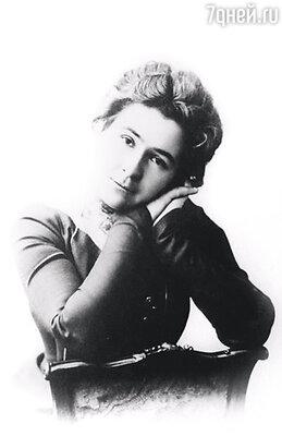 Ольга Книппер была обычной московской барышней из небогатой, но почтенной семьи инженера