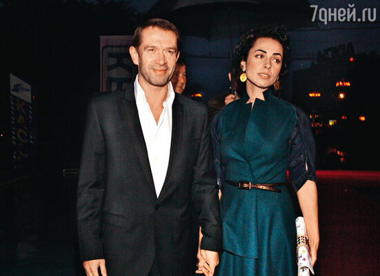 Владимир Машков с женой Оксаной
