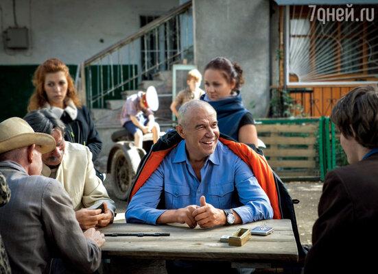Сергей Гармаш травил байки и в кадре, и в перерывах