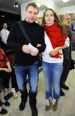 Александр Носик с подругой Ольгой