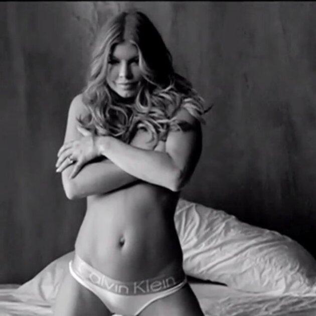 Ферджи в рекламной кампании нижнего белья Calvin Klein