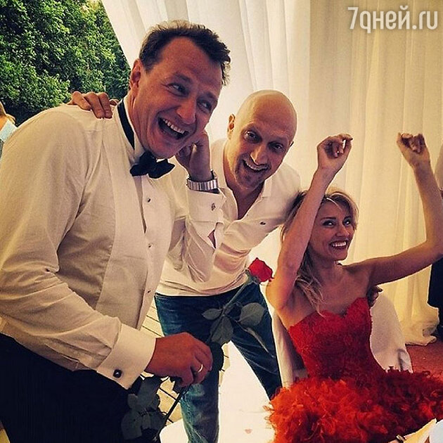 Екатерина Архарова, Марат Башаров и Гоша Куценко