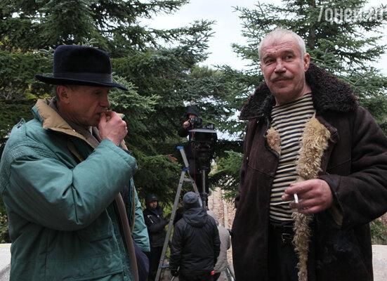 Андрей Панин и Сергей Гармаш