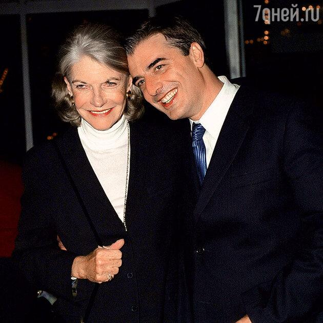 Крис Нот с матерью