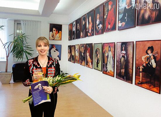 Екатерина на открытии выставки в Братиславе