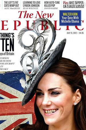 Кейт Миддлтон на обложке газеты The New Republic