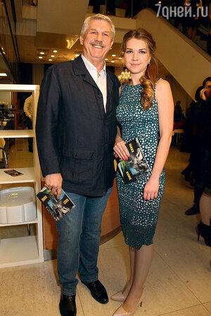 Сергей Баталов с дочкой Екатериной