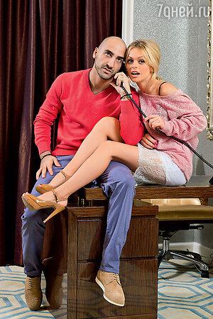 Анна Хилькевич с женихом Артуром