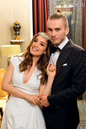 Вика Дайнеко с мужем Дмитрием
