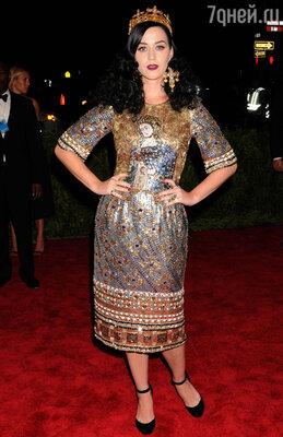 Кэти Перри в Dolce & Gabbana