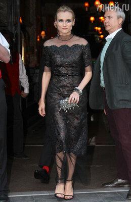Диана Крюгер в Chanel Haute Couture