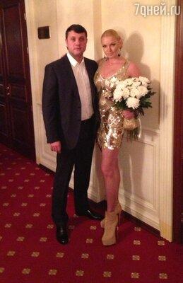 Анастасия Волочкова с возлюбленным Бахтияром