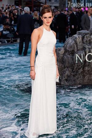 Эмма Уотсон на премьере фильма «Ной» в Лондоне