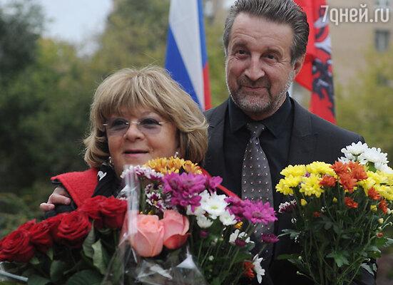 Алла Сурикова и Леонид Ярмольник