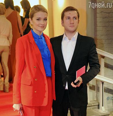 С мужем Резо Гигинеишвили