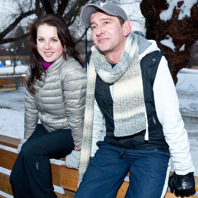 Ирина Слуцкая и Константин Хабенский