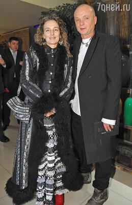 Андрей Смоляков с женой