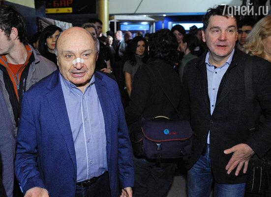 Михаил Жванецкий и Сергей Маковецкий