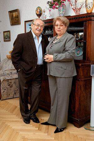 Всеволод Шиловский с женой