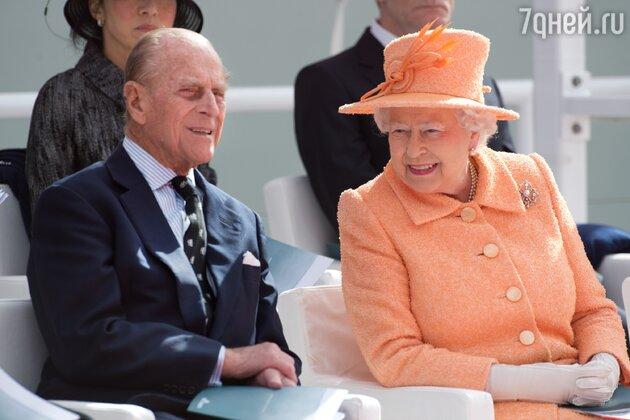 Елизавета II принц Филипп
