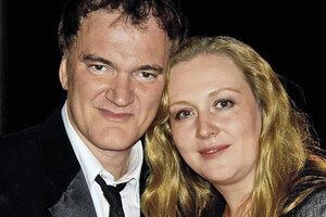 Юлия Ауг шокировала дочь поцелуем с Квентином Тарантино