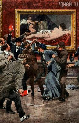 В 1914 году «Венера», как феникс из пепла, возродилась после нападения суфражистки Мэри Ричардсон