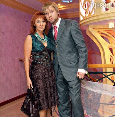 Сергей Светлаков с женой Юлией