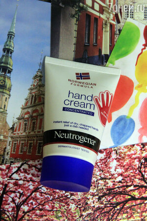 Крем для рук с запахом концентрированный «Норвежская формула» от Neutrogena