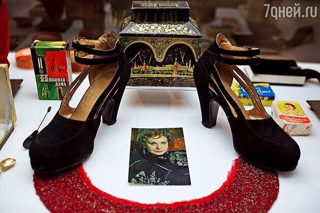 Вещи легендарной актрисы Лидии Смирновой. На выставке «Кино и мода»