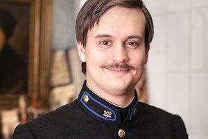 Сын Александра Домогарова записался добровольцем на фронт