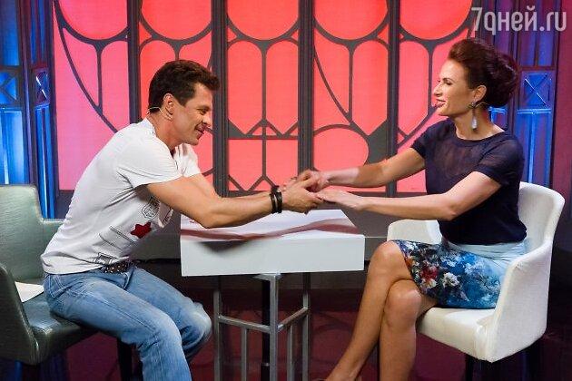 Павел Деревянко и Эвелина Блёданс