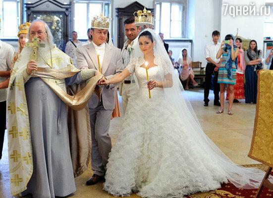 Любовь Тихомирова и Ласло Долински