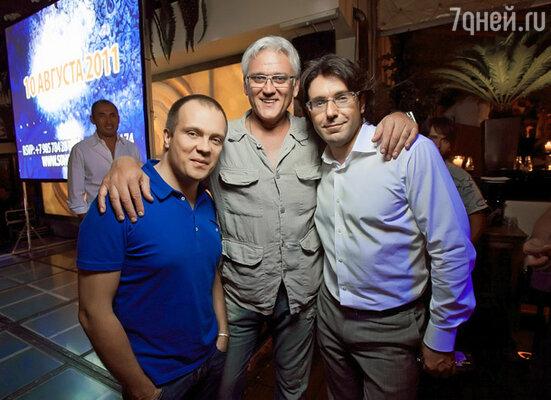 DJ Groove,Александр Маршал и Андрей Малахов