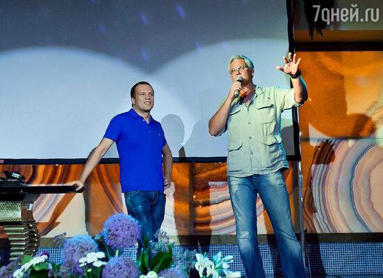 DJ Groove и Александр Маршал
