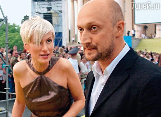 Гоша Куценко с подругой Ириной