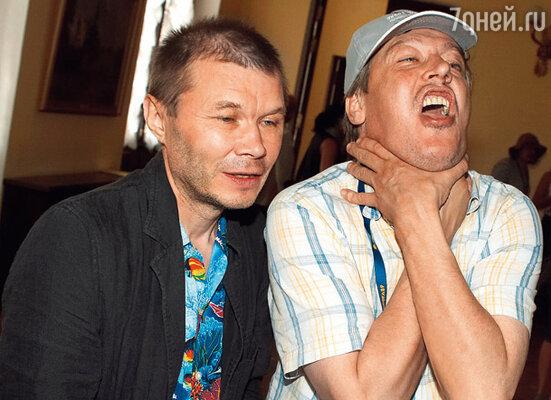 Друзья Александр Баширов и Михаил Ефремов