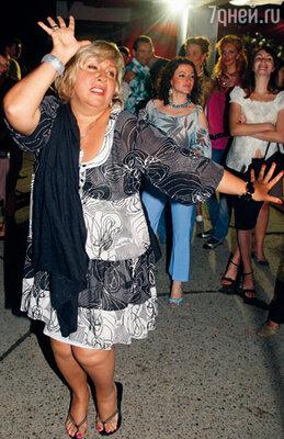 Марина Голуб на вечеринке