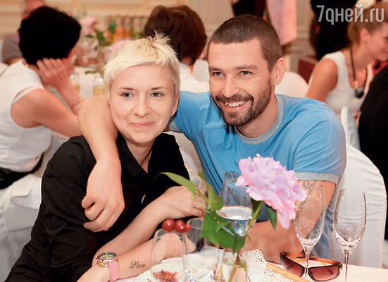 С бывшей женой Валерией Римской, скоторой прожил 17 лет. 2011 г.