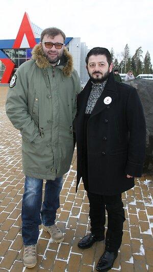 Михаил Галустян, Михаил Пореченков