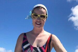 Видео: Екатерина Андреева покорила океан