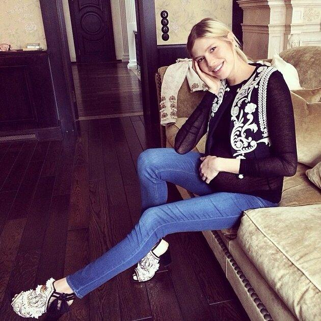 Елена Перминова  Conscious Exclusive 2014 H&M