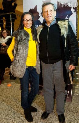 Борис Грачевский с супругой